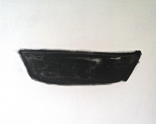Boat 3, 2012, huile sur bois, 61 x 76 cm (vendu-sold)