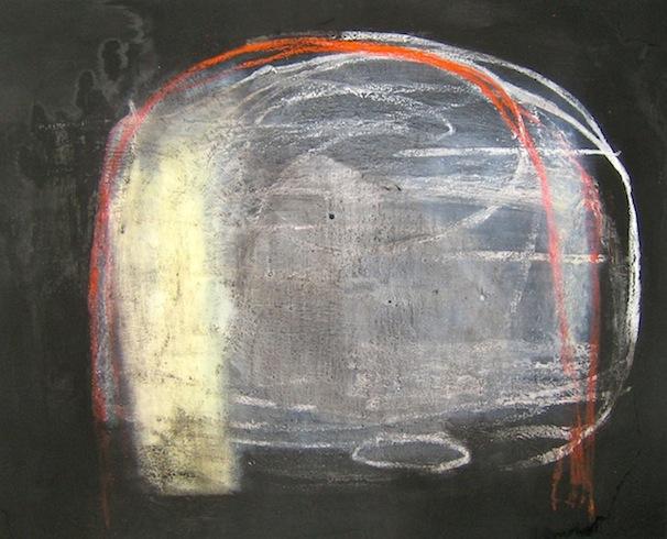 Carcasse 3, 2009, technique mixte sur toile, 122 x 152 cm (vendu-sold)
