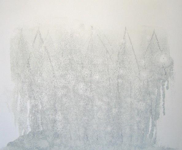 House series (2), 2010, huile sur bois), 35,5 x 43 cm