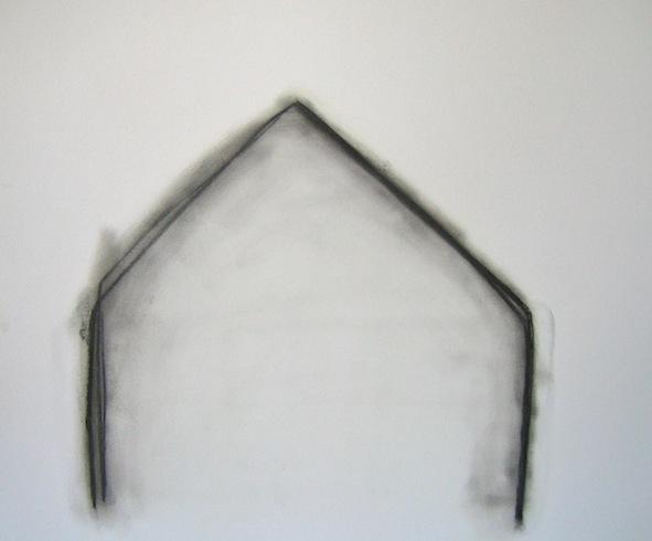 House series(3), 2010, huile sur bois, 35,5 x 43cm (vendu-sold)