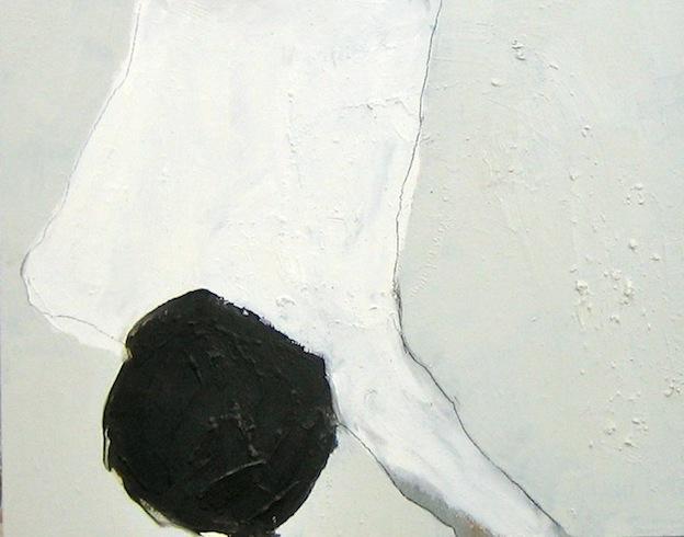 Nu (2), 2009, huile sur bois, 41,5x52cm (vendu-sold)