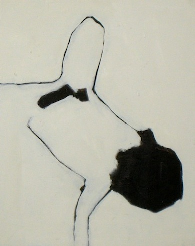 Nu, 2009, huile sur toile, 52x41,5cm (vendu-sold)