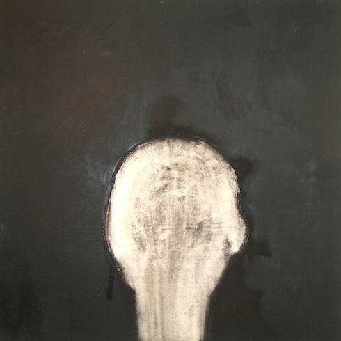 Trace 2, 2011, huile sur bois, 76 x 76cm (vendu-sold)