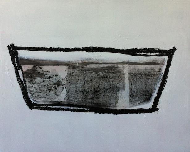 Boat 7, 2013, huile sur bois, 61 x 76 cm (vendu-sold)